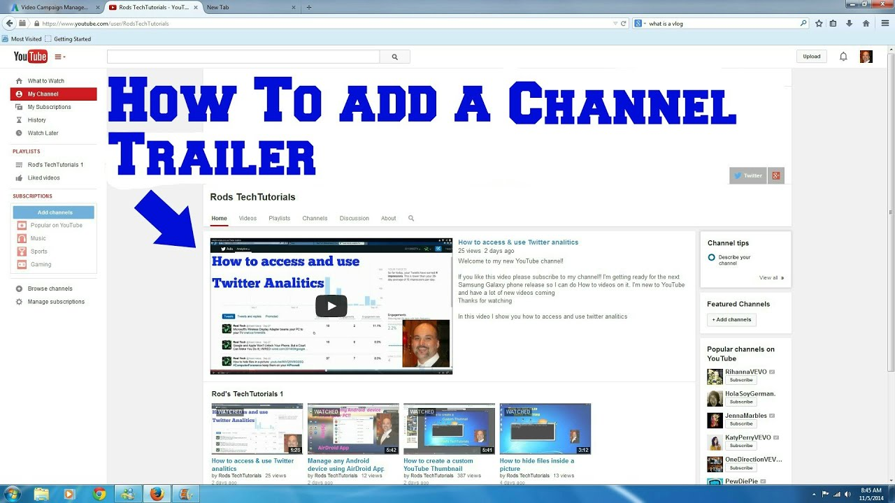 Telus how to add a channel