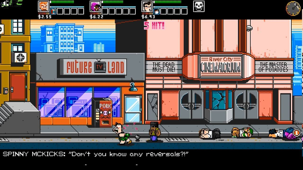 River city ransom underground how to change names