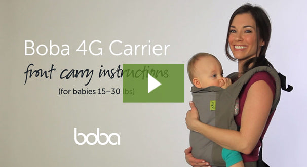 boba wrap carrier instructions