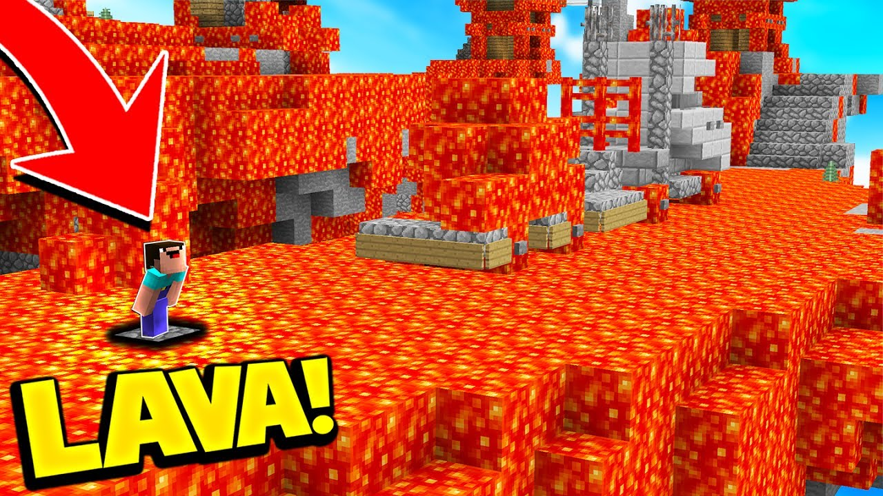 Skyblock.net how to get lava