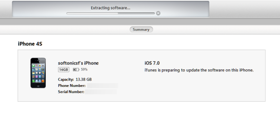 Manually install ipsw without itunes