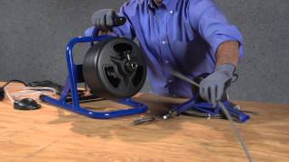 Cobra drain pipe auger instructions