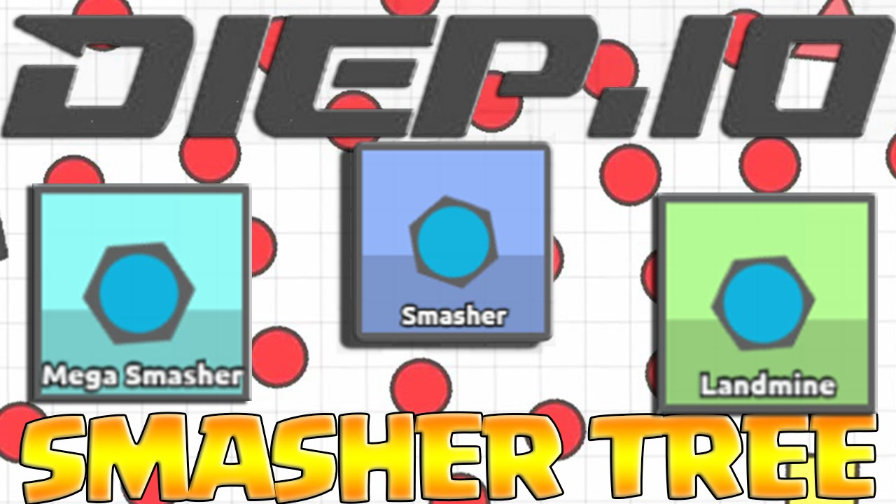 Diep.io how to become smasher