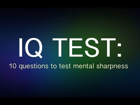 Iq test questions with answers brain teasers