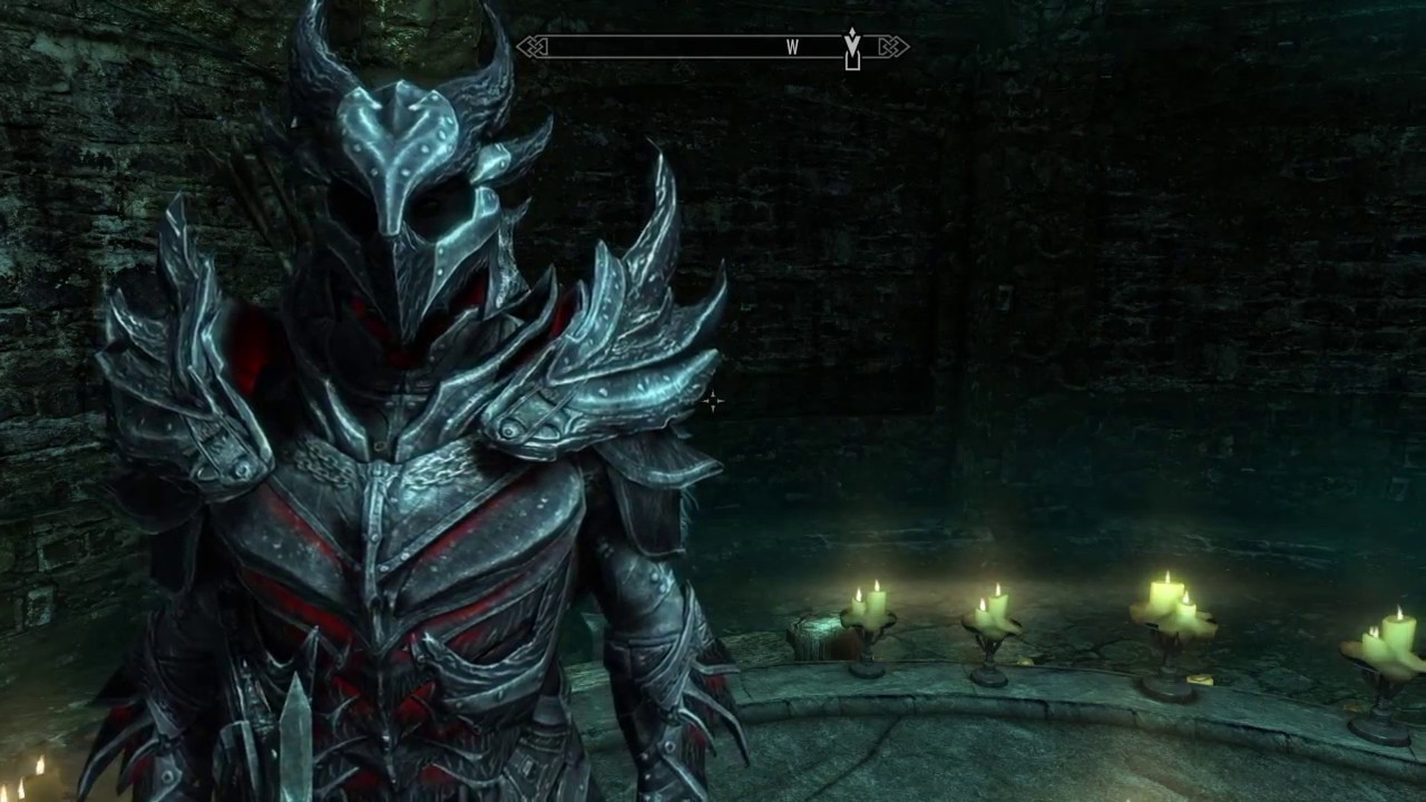 Skyrim how to get daedric armor and weapons for free