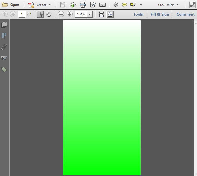 Java itext 7 pdf canvas on top