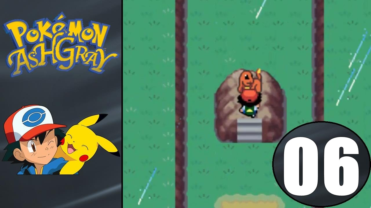 Pokemon ash gray how to get bulbasaur charmander and squirtle