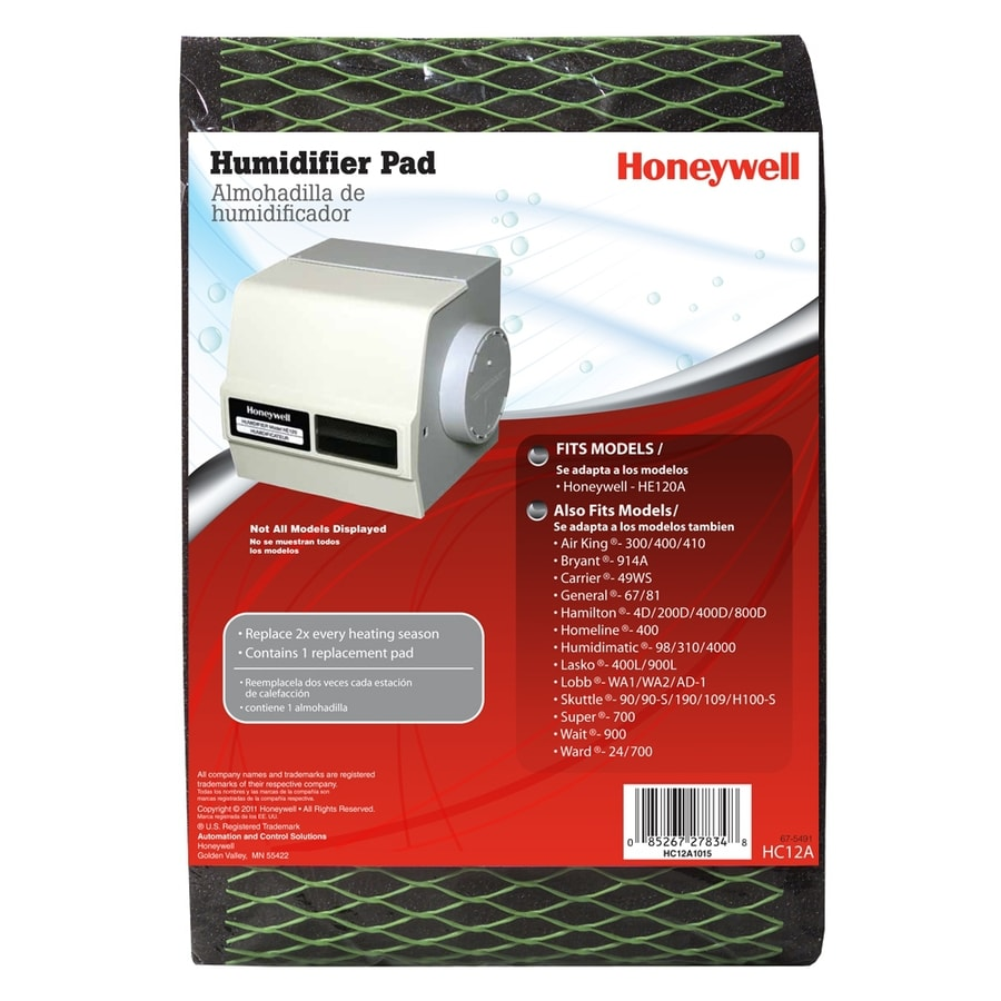 Honeywell humidifier filter replacement instructions