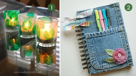 using recycled materials to make useful things project instructions