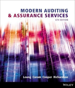Auditing and assurance services in australia 6th edition pdf
