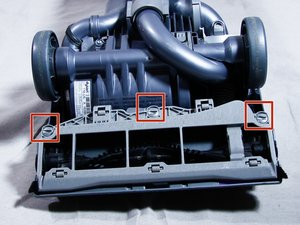 dyson dc17 brush bar motor replacement instructions