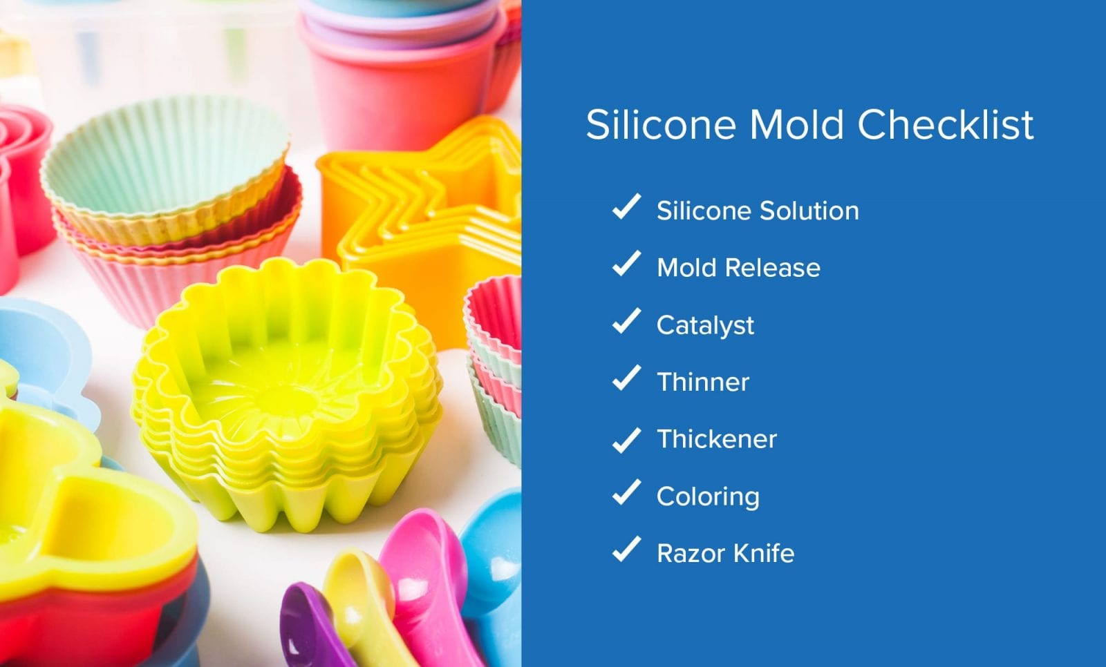 rtv silicone mould making rubber instructions
