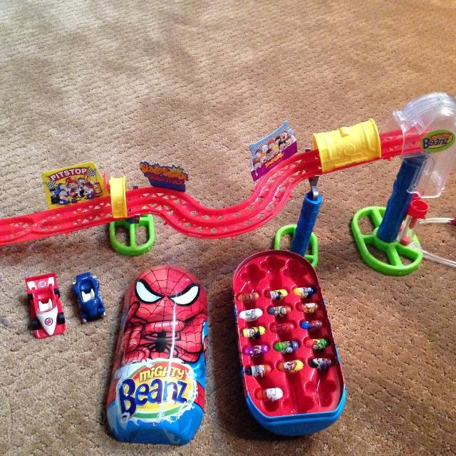 mighty beanz track instructions