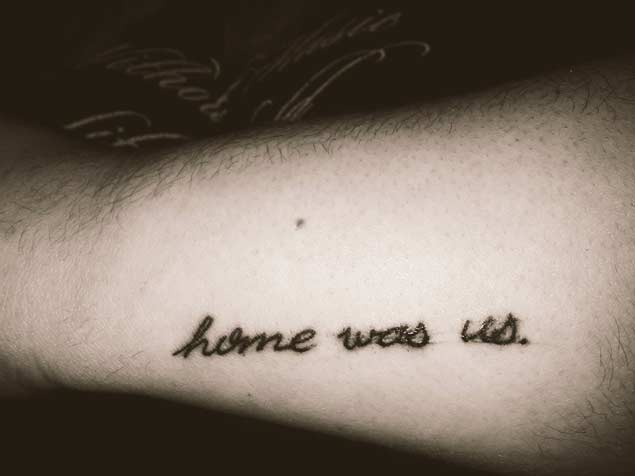 Lights will guide you home tattoo