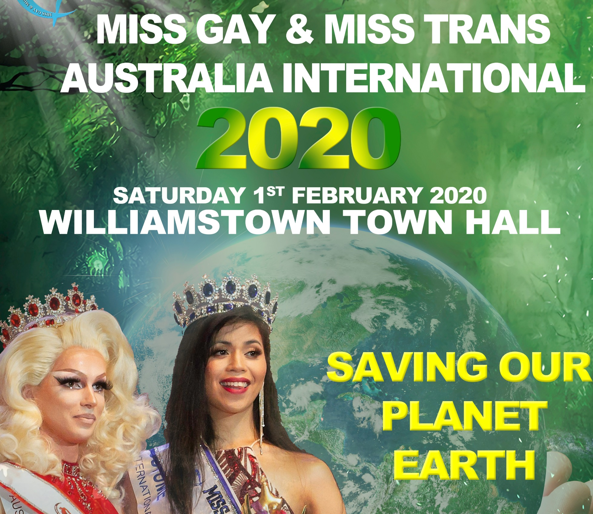 Miss gay and miss transsexual australia application