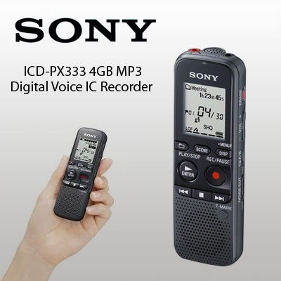 Sony ic recorder icd px820 manual