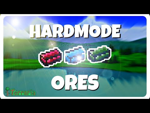 Terraria how to find hardmode ores