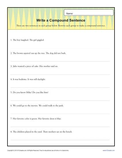 Topic sentence worksheet with answers pdf